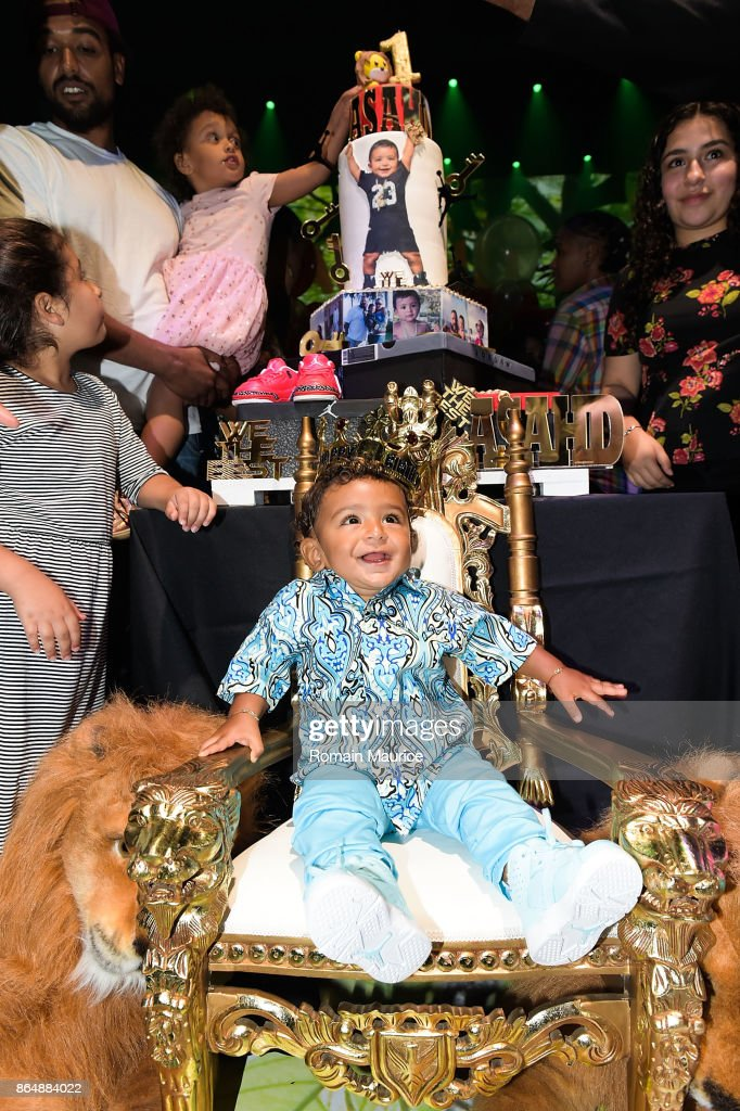 Tot Living By Haute Living Celebrates Asahd's First Birthday With Cybex