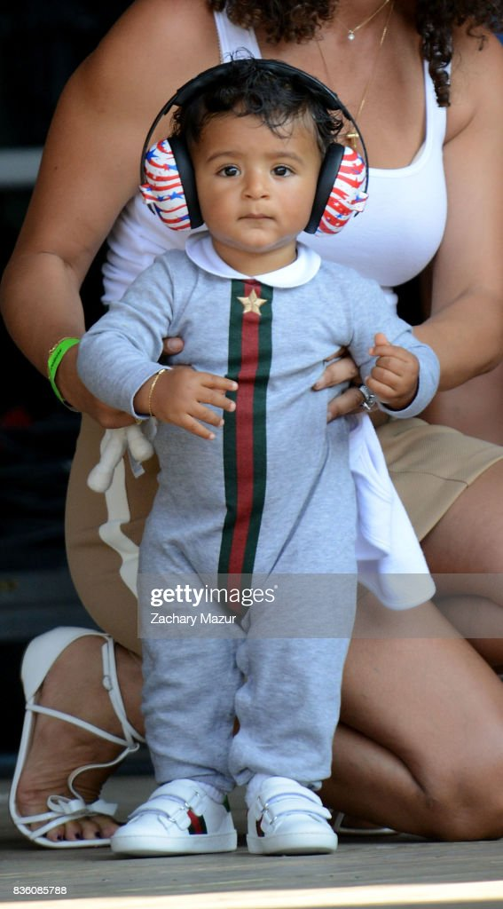 Asahd Tuck Khaled performs at 2017 Billboard HOT 100 Music Festival at Northwell Health at Jones Beach Theater on August 20, 2017 in Wantagh, New York.