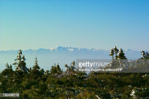 Asahi mountain range, Yamagata Prefecture, Japan