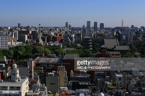 Asakusa city views : Stock Photo