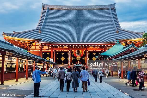 Asakusa, Senso Temple, the Hondo (Main Hall)