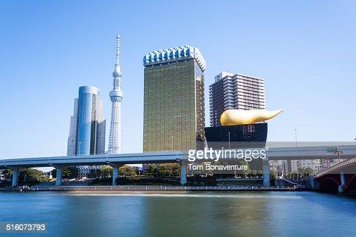 Asakusa skyline with Tokyo Skytree