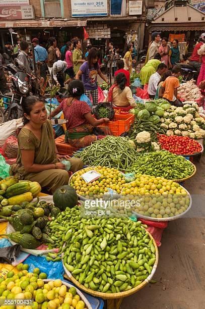 Asan Tole vegetable market
