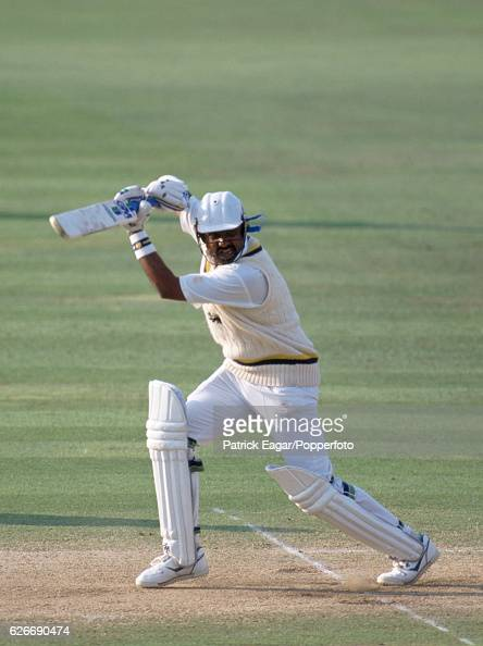 Asanka Gurusinha batting for Sri Lanka during the Only Test match between England and Sri Lanka at Lord's Cricket Ground London 26th August 1991