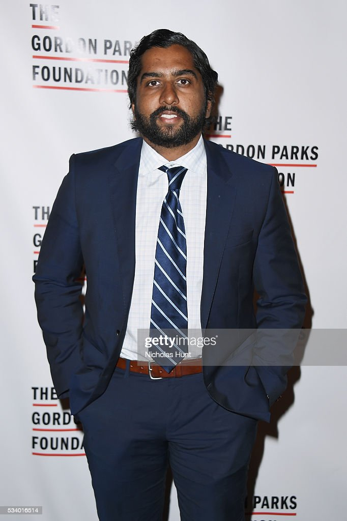 Asanka Pathiraja attends the 2016 Gordon Parks Foundation awards dinner at Cipriani 42nd Street on May 24, 2016 in New York City.