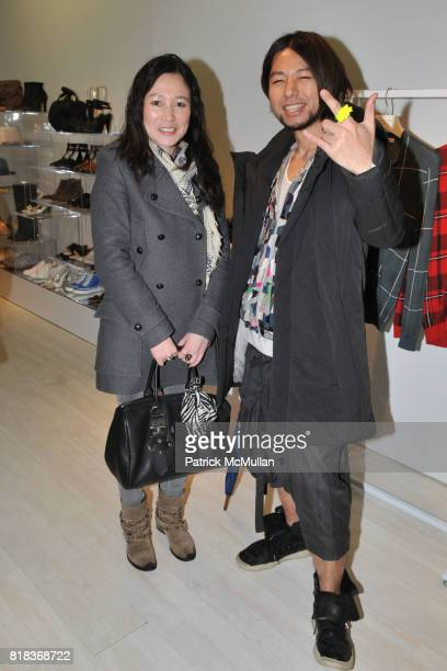 Asano Miyazaki and Takuy 3110 attend ALOHA RAG Launch of Exclusive Menswear Collection with THAKOON at Aloha Rag on February 16 2010 in New York City