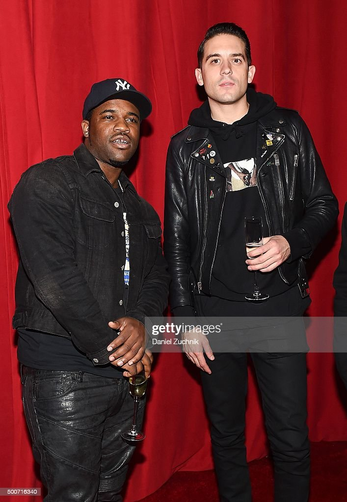 Asap Ferg and GEazy attend the Adidas Originals NMD Global Unveiling at Lexington Armory on December 9 2015 in New York City