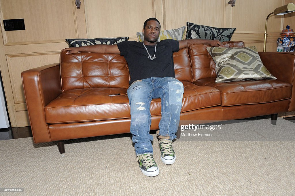 Asap Ferg attends the REVOLVE Pool Party hosted by Asap Ferg sponsored by DeLeon Tequila at the REVOLVE Hamptons House on July 26 2015 in Sagaponack...