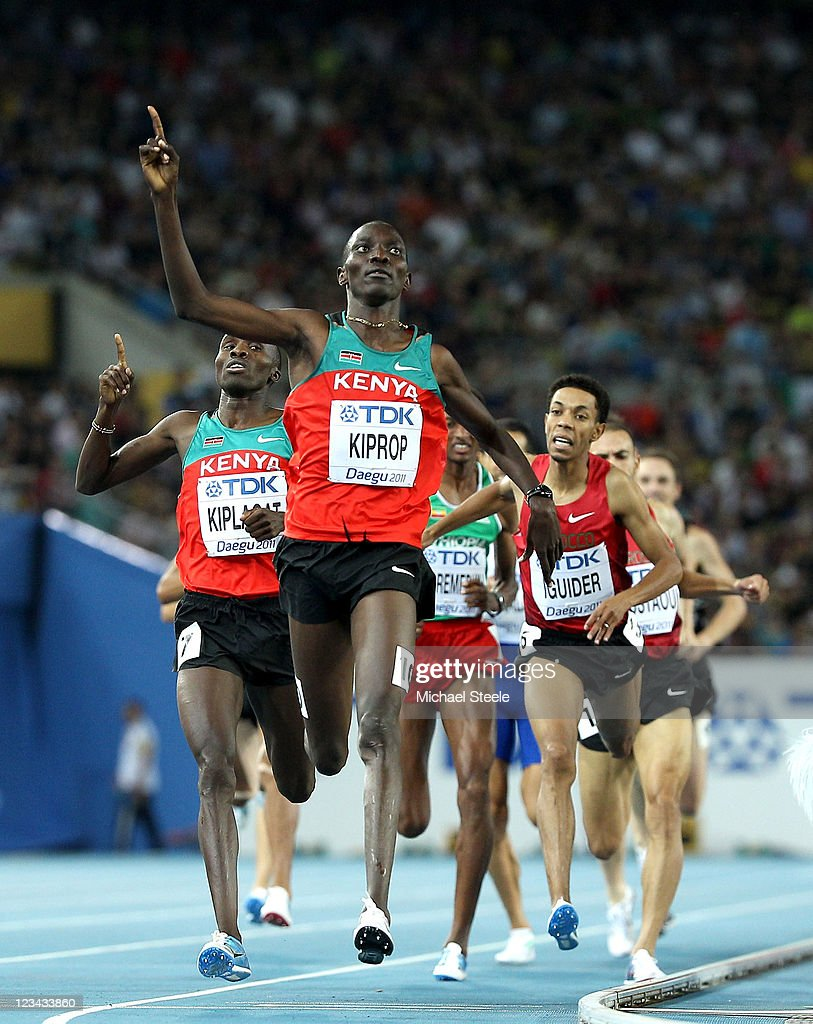 Usain bolt, a three-time gold medalist at both the olympics and world championships, arrived at daegu airport on the