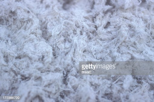 Fibras de amianto : Foto de stock