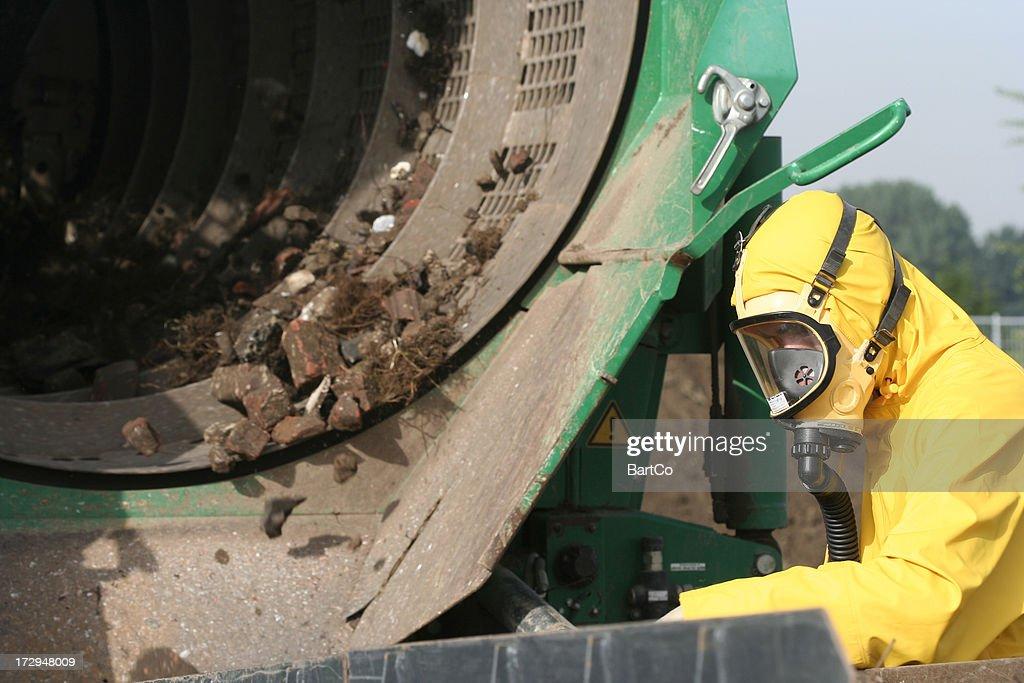 Asbestos in the soil
