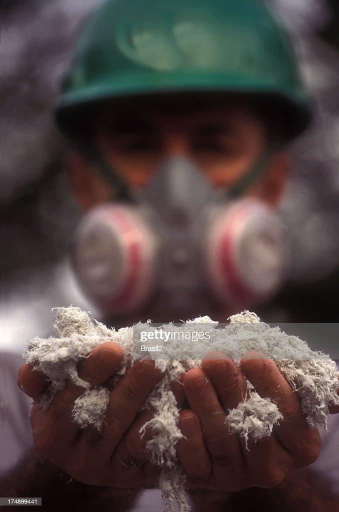 Asbestos worker