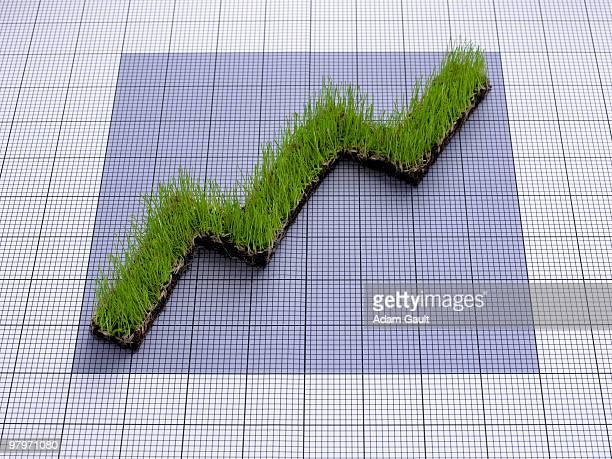Ascending grass graph