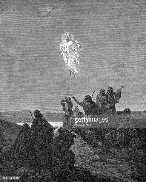 Ascension of Jesus illustration by Gustave DorŽ