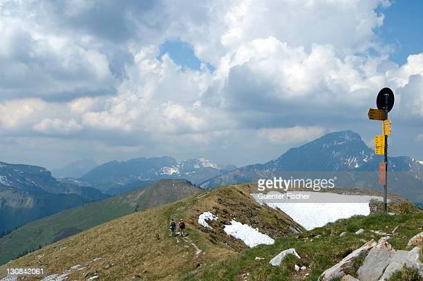 Ascent Pointe de Bellevue (2042 m) Morgins Vaud Switzerland