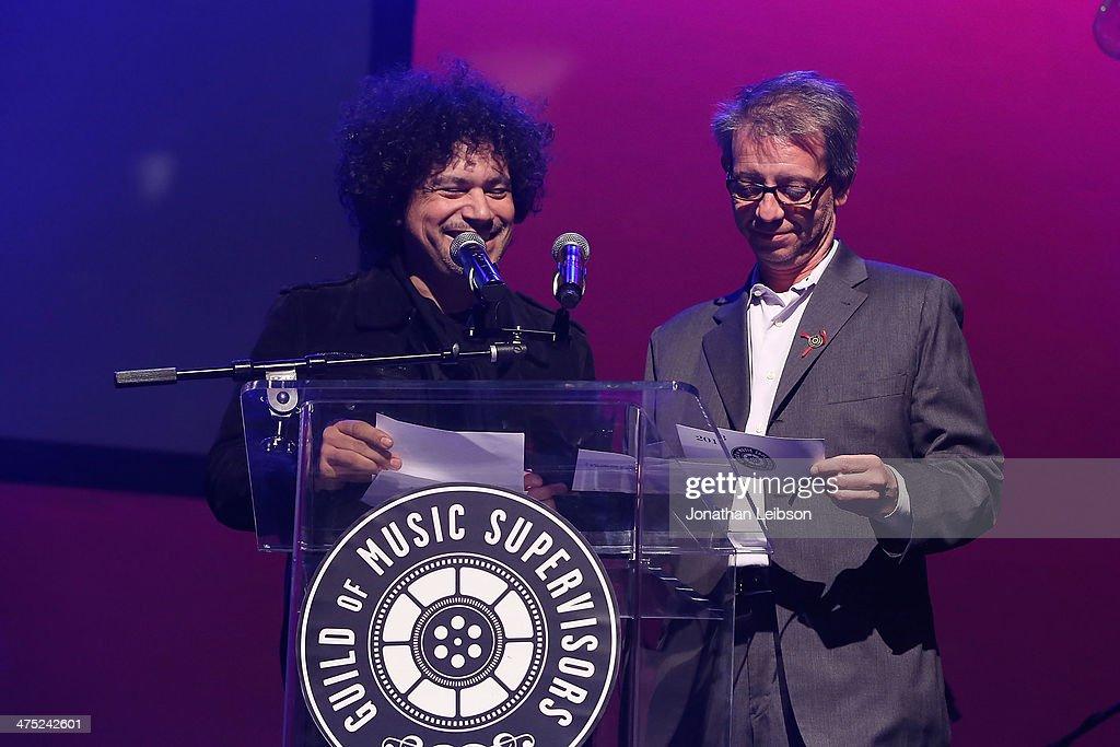 Asdru Sierra attend the 4th Annual Guild of Music Supervisors Awards at Mack Sennett Studios on February 26 2014 in Los Angeles California