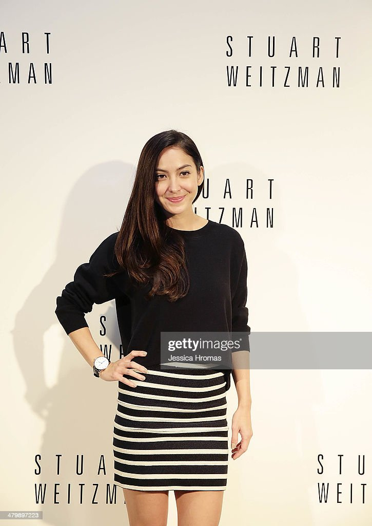 Ase Wang attends the opening of the Stuart Weitzman Boutique which was designed by Zaha Hadid in the IFC Mall, Central on March 21, 2014 in Hong Kong.