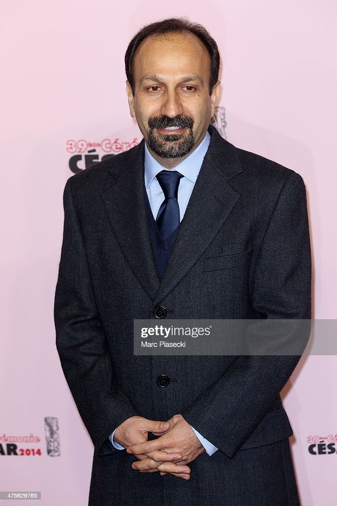 <a gi-track='captionPersonalityLinkClicked' href=/galleries/search?phrase=Asghar+Farhadi&family=editorial&specificpeople=5700577 ng-click='$event.stopPropagation()'>Asghar Farhadi</a> arrives for the 39th Cesar Film Awards 2014 at Theatre du Chatelet on February 28, 2014 in Paris, France.