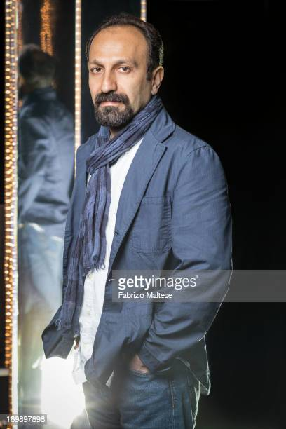 Asghar Farhadi is photographed for Self Assignment on May 20 2013 in Cannes France