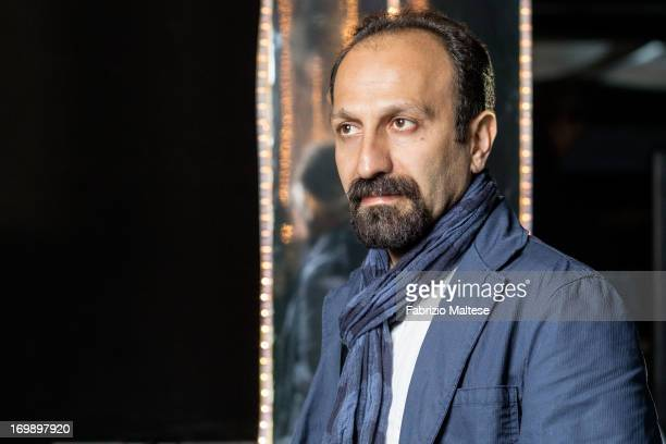 Asghar Farhadi is photographed for The Hollywood Reporter on May 20 2013 in Cannes France