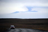 Ash and smoke bellow from the Eyjafjallajökull volcano as the volcano is seen from Vestmannaeyjar Iceland on April 20 2010 The volcanic ash cloud...