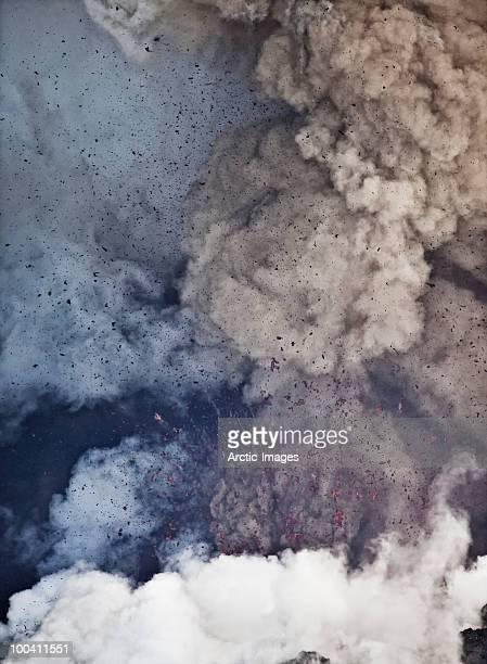 Ash cloud, Eyjafjallajokull Volcano Eruption