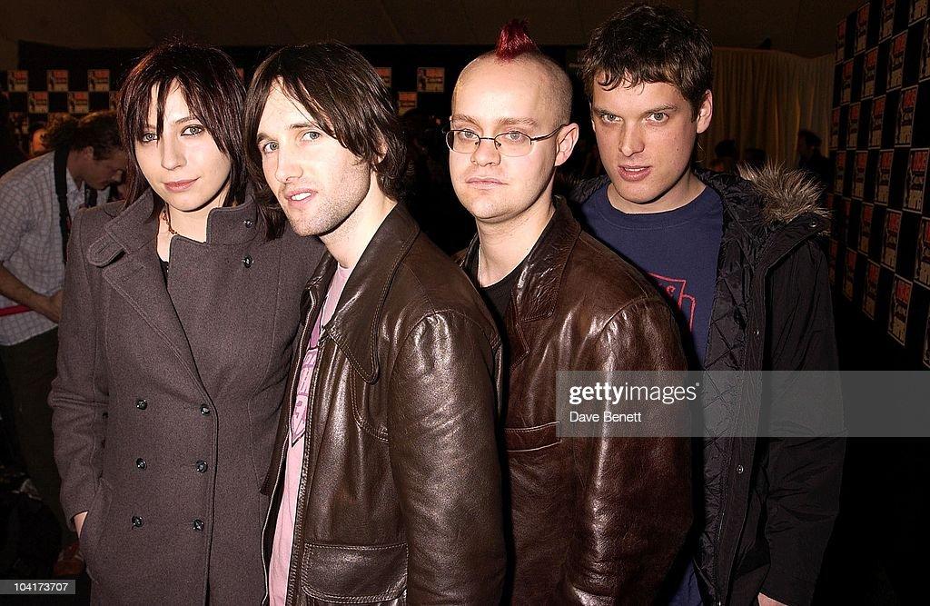 Ash, Nme Carling Awards 2002, In Shoreditch, London