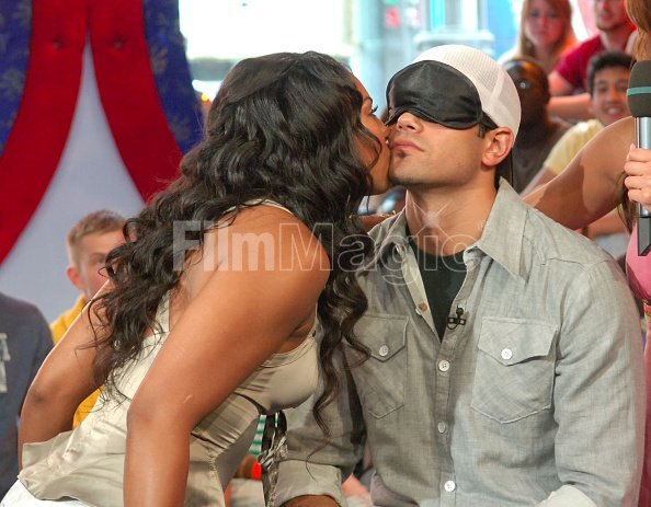 Ashanti and Jesse Metcalfe during Cassie Ashanti Jesse ...