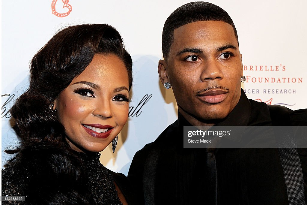 Ashanti and Nelly attends the Angel Ball 2012 at Cipriani Wall Street on October 22, 2012 in New York City.
