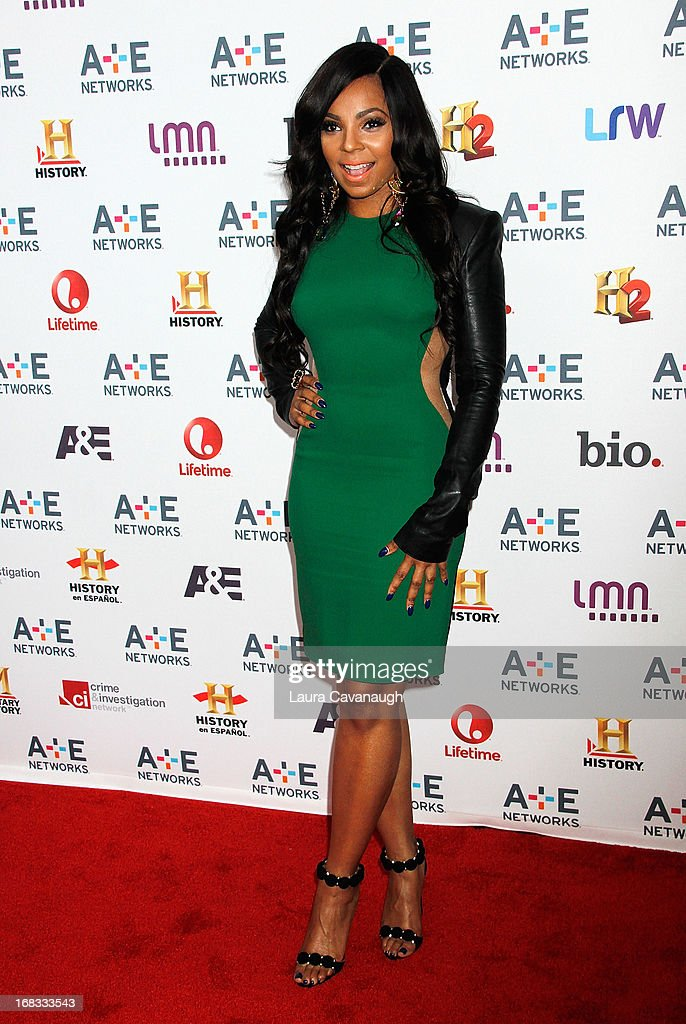 Ashanti attends A&E Networks 2013 Upfront at Lincoln Center on May 8, 2013 in New York City.