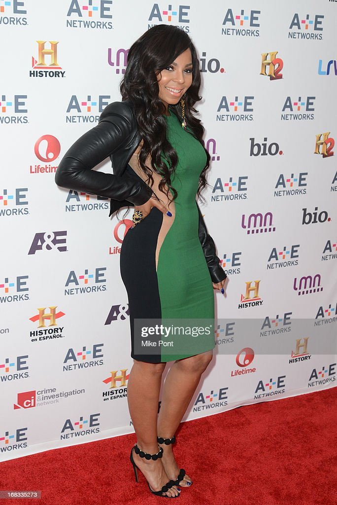 Ashanti attends A+E Networks 2013 Upfront at Lincoln Center on May 8, 2013 in New York City.