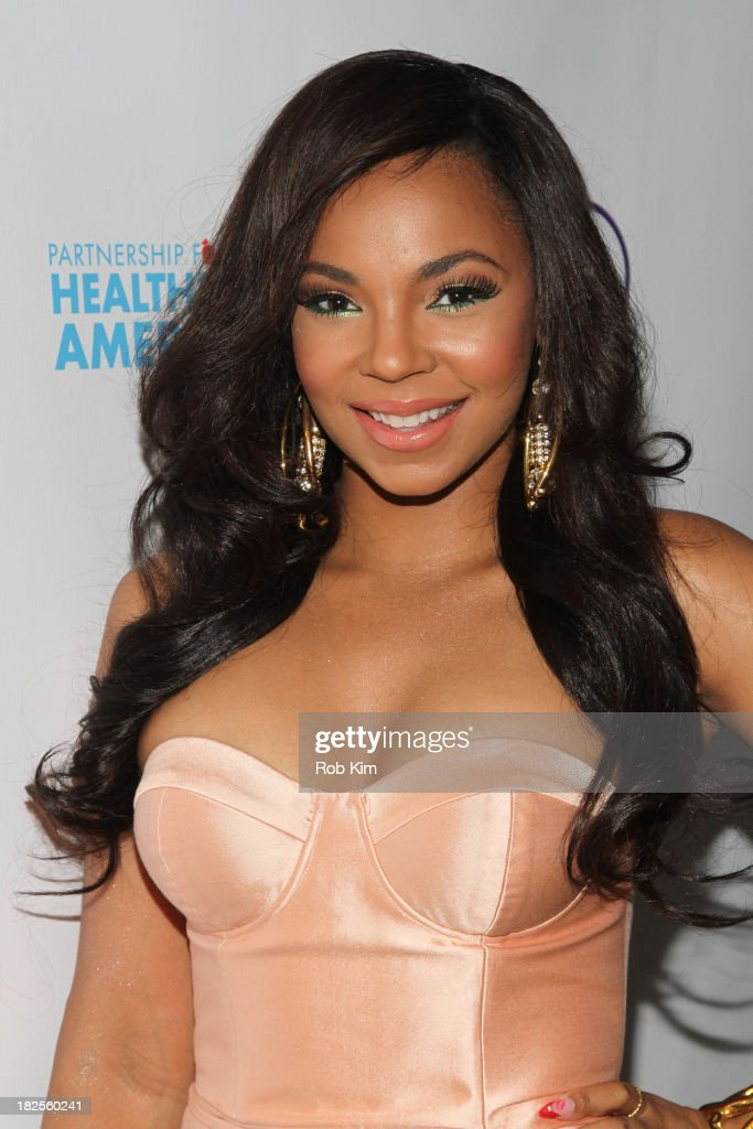 <a gi-track='captionPersonalityLinkClicked' href=/galleries/search?phrase=Ashanti&family=editorial&specificpeople=146300 ng-click='$event.stopPropagation()'>Ashanti</a> attends the 2013 kick-off event for Songs for a Healthier America at Symphony Space on September 30, 2013 in New York City.