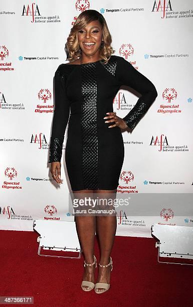Ashanti attends the 36th annual AAFA American Image Awards at Grand Hyatt New York on April 29 2014 in New York City