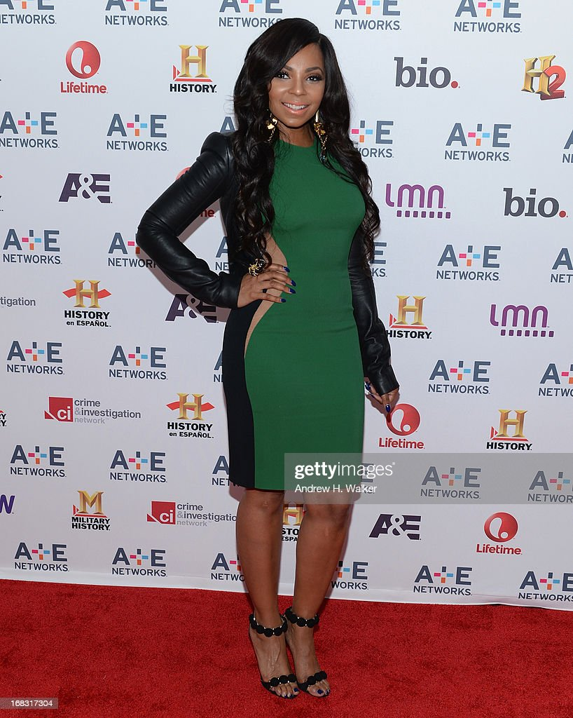 Ashanti attends the A+E Networks 2013 Upfront on May 8, 2013 in New York City.