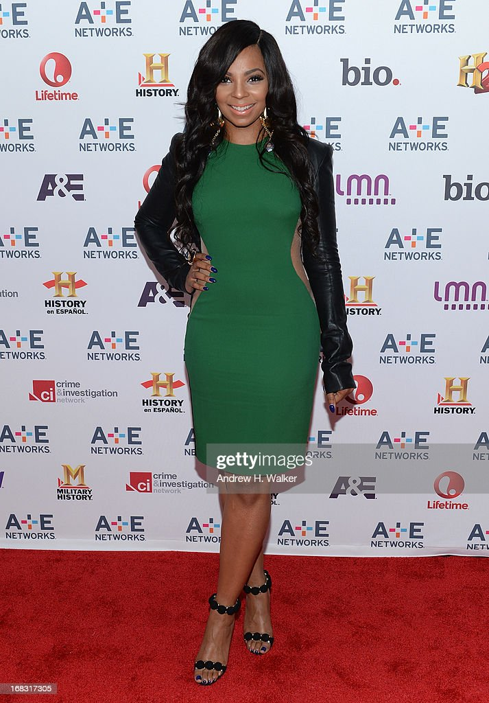 <a gi-track='captionPersonalityLinkClicked' href=/galleries/search?phrase=Ashanti&family=editorial&specificpeople=146300 ng-click='$event.stopPropagation()'>Ashanti</a> attends the A+E Networks 2013 Upfront on May 8, 2013 in New York City.