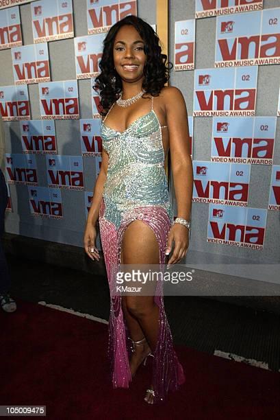 Ashanti during 2002 MTV Video Music Awards Arrivals at Radio City Music Hall in New York City New York United States