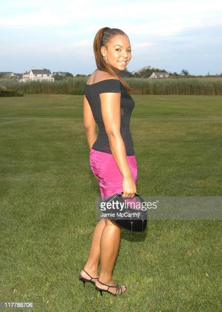 Ashanti during A Glittering Night Under the Stars to Benefit The G P Foundation for Cancer Research at The Home of Denise Rich in Southampton New...