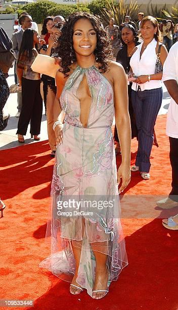 Ashanti during The 8th Annual Soul Train 'Lady Of Soul' Awards Arrivals at Pasadena Civic Auditorium in Pasadena California United States