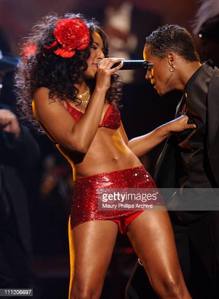 Ashanti during The 8th Annual Soul Train 'Lady of Soul' Awards Show at Pasadena Civic Auditorium in Pasadena California United States