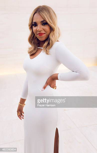 Ashanti poses for a portrait at the BET Awards 2014 on June 28 2014 in Los Angeles California