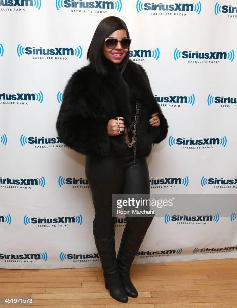 Ashanti visits at SiriusXM Studios on November 25 2013 in New York City
