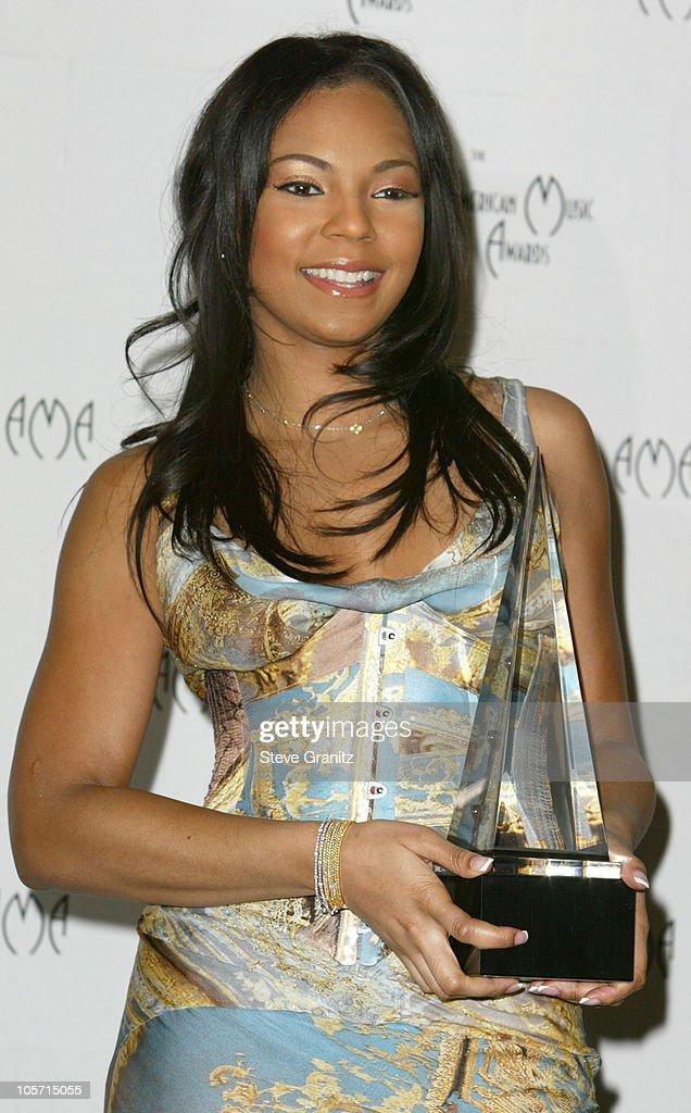 Ashanti, winner of four American Music Awards during The 30th Annual American Music Awards - Press Room at Shrine Auditorium in Los Angeles, California, United States.