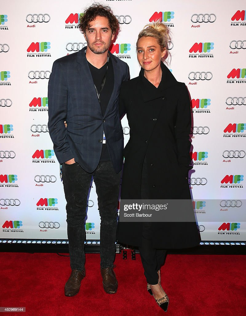 Asher Keddie and Vincent Fantauzzo attend the opening night of the 63rd Melbourne International Film Festival at Hamer Hall on July 31, 2014 in Melbourne, Australia.
