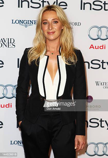 Asher Keddie arrives at the 2012 Women Of Style Awards at The Carriageworks on May 15 2012 in Sydney Australia