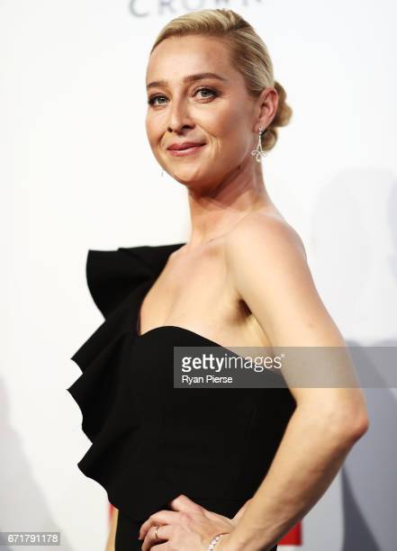 Asher Keddie arrives at the 59th Annual Logie Awards at Crown Palladium on April 23 2017 in Melbourne Australia