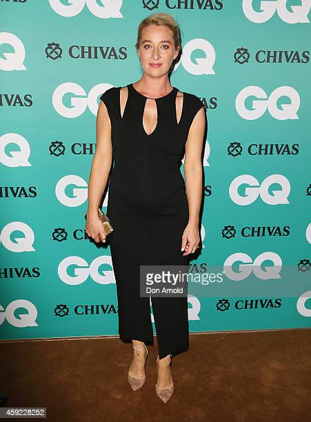 Asher Keddie arrives for the GQ Men Of The Year Awards 2014 at The Ivy on November 19 2014 in Sydney Australia