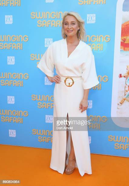 Asher Keddie attends the world premiere of Swinging Safari on December 12 2017 in Sydney Australia
