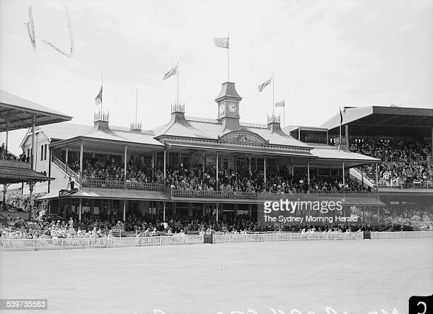Ashes Test 19501951 The Members Stand is full for day one of the third test at the SCG 5 January 1951 SMH Picture by Frank Burke