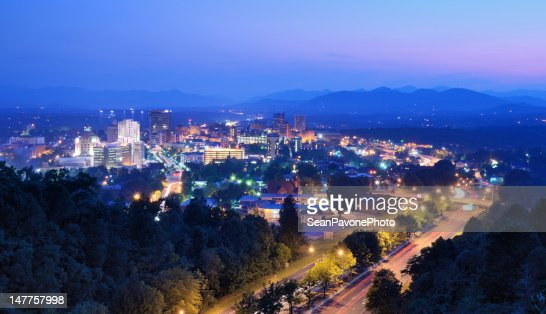Asheville Skyline : Stock Photo