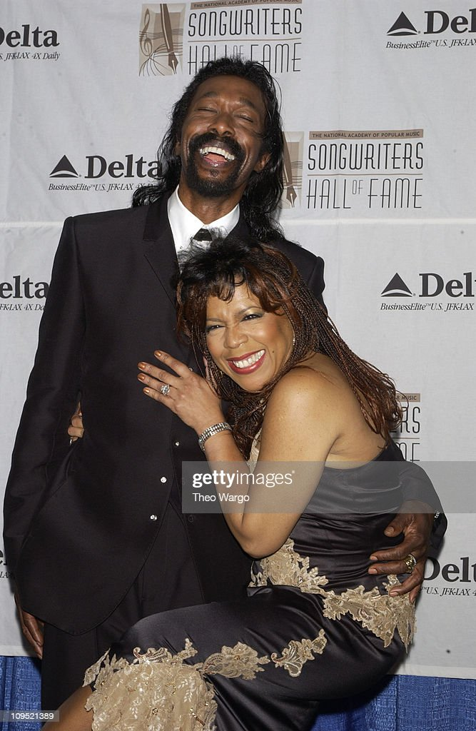 Ashford and Simpson during Songwriters Hall of Fame Awards - Press Room at Sheraton Towers in New York City, New York, United States.